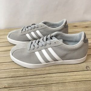 ADIDAS women's gray sneakers size 6